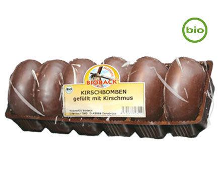 Bio Vegane Kirschbomben Lebkuchen Mit Kirschfullung 200g Kuchen